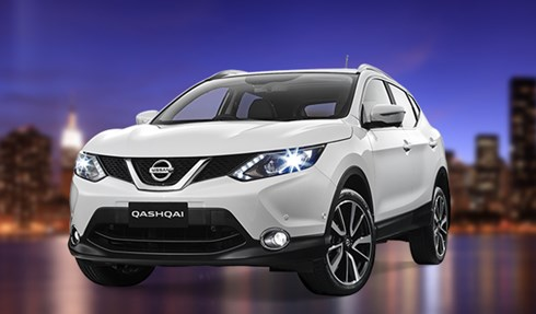 Win a Nissan Qashqai
