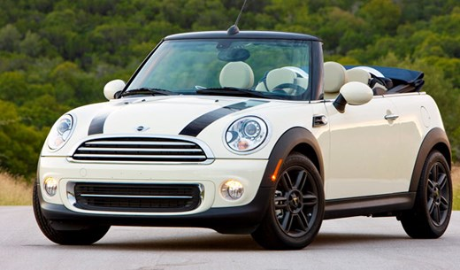 Win a Mini Cooper One Convertible