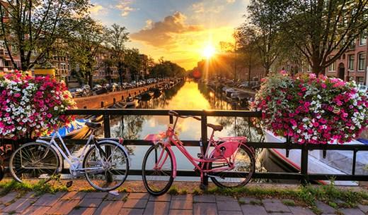 Win a Spring break in Amsterdam