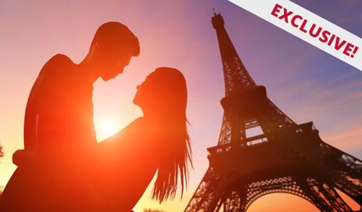 Win a Paris City Break for Valentine's Day