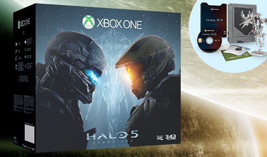 Win a brand new Xbox Limited Edition Halo:5 Guardians Bundle