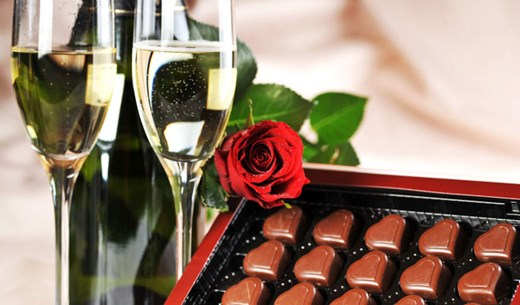 Win flowers, chocolates and champagne for Valentine's Day