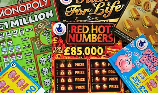 Win 100 £1 Scratchcards