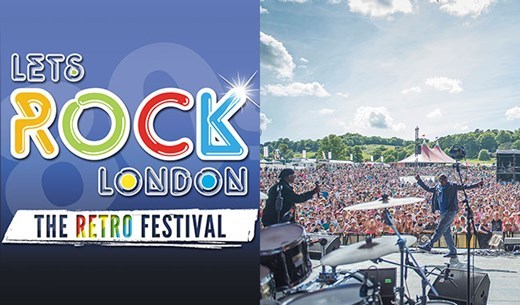 Win a pair of adult tickets to Let's Rock in London