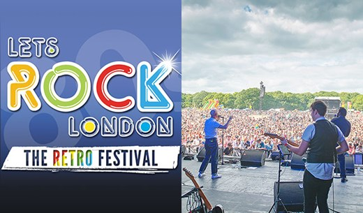 Win a pair of VIP tickets to Let's Rock in London