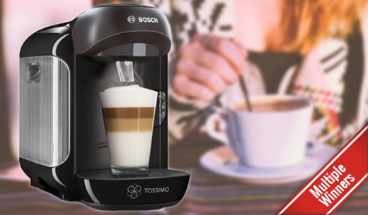 Win 1 of 50 Tassimo Coffee Machines