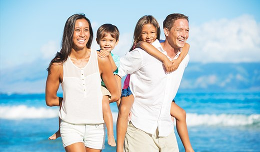 Win an all inclusive family holiday to a destination of your choice in Europe including £500 spending money