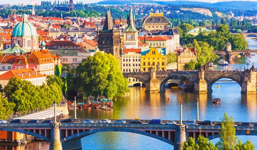 Win a weekend break to Prague