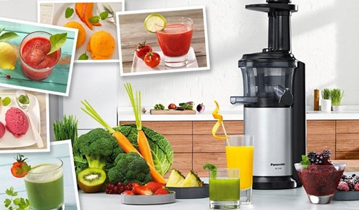 Test and keep a Panasonic MJ-L500 slow juicer