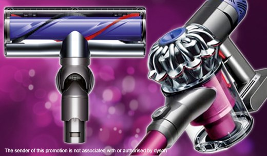 Complete the survey for your chance to WIN a Dyson V6
