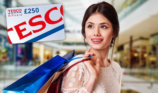 Win £250 TESCO vouchers