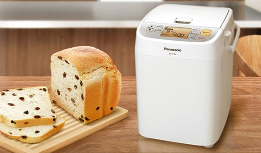 Win 1 of 2 Panasonic breadmakers