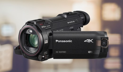Win a Panasonic twin camera