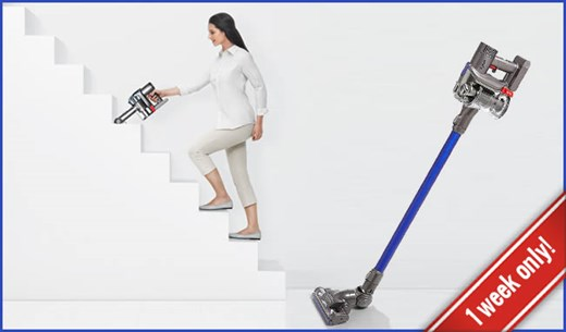 1-Week Only - Win a Dyson DC44 Cordless
