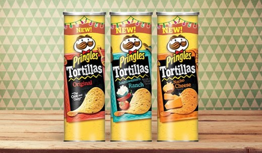 Test and keep the new Pringles Tortilla Chips
