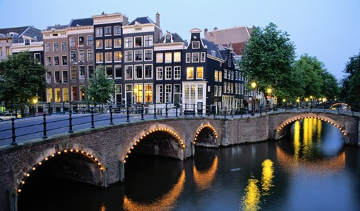 Win a weekend break to Amsterdam
