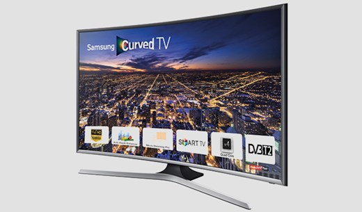 Test and keep a Samsung curve 40-inch TV
