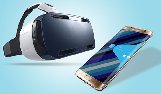 Test and keep a Samsung Galaxy S7 Edge and a Samsung Virtual Reality headset