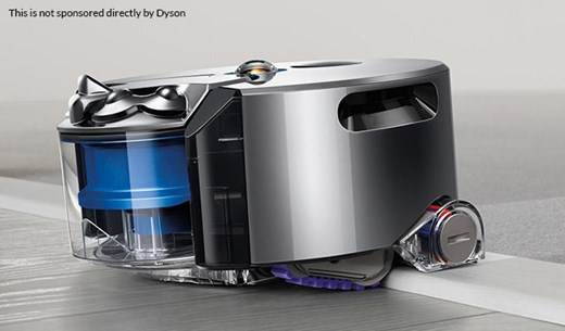 Test and keep a Dyson 360 eye robot vacuum