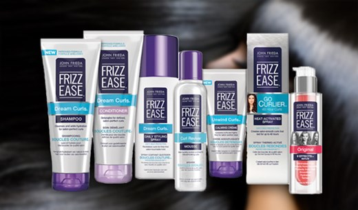 Test and keep a Frizz Ease package of your choice