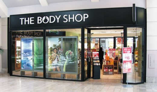 Review a Body Shop shopping experience