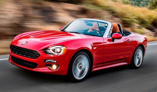Test and keep a Fiat 124 Spider