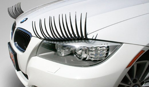 Win a set of eyelashes for your car