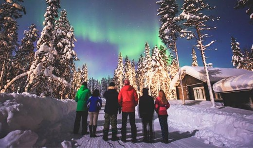 Rate and review a family holiday at Lapland