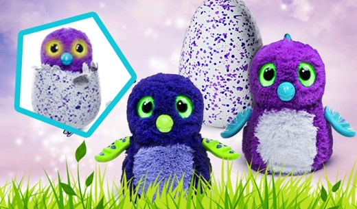 Win 1 of 5 Hatchimals in time for Christmas