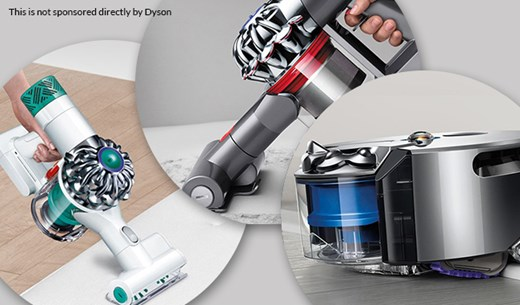 Win a Dyson bundle worth £2,500