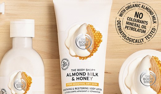 Review The Body Shop's new sensitive skincare range