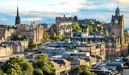 Win a Spring break to Edinburgh