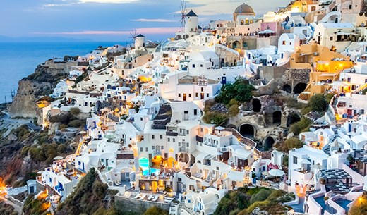 Win a Spring break in Santorini