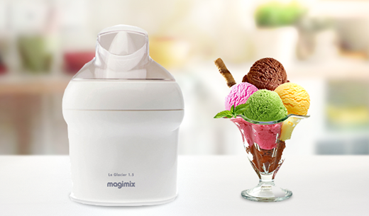 Test and keep a Magimix Le Glacier Ice Cream Maker