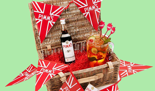 Win 1 of 5 Pimm's Summer Hampers