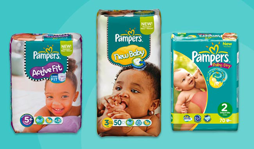 Testers needed to review Pampers nappies and keep a year's supply