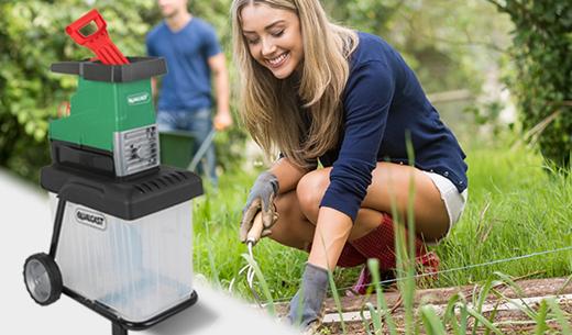 Test and keep a Qualcast Garden Shredder