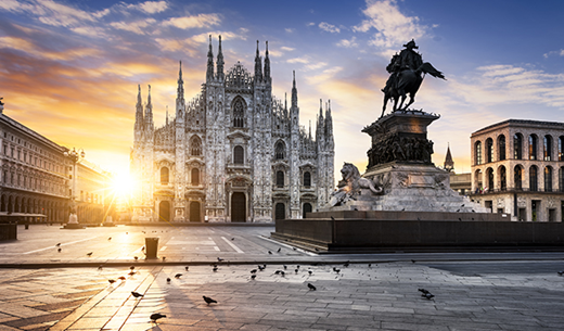 Win a weekend break to Milan