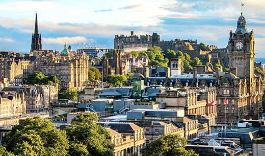 Win a weekend break to Edinburgh