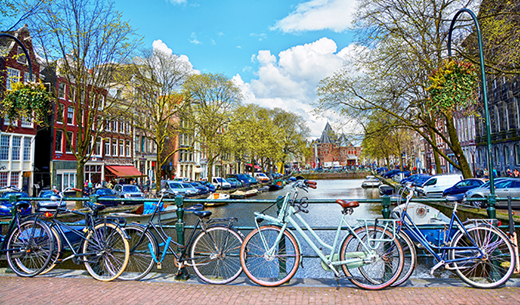Win a weekend break in Amsterdam