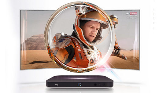 Win a Sky Q subscription for twelve months