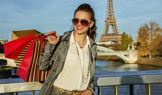 Win a shopping weekend in Paris