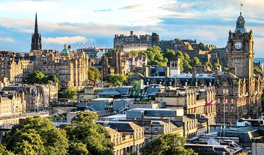 Win a Spring break to Edinburgh