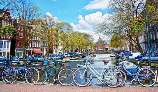 Win a Spring break to Amsterdam