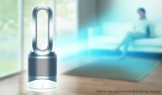 Win A Dyson Pure Hot Cool Link Air Purifier Free