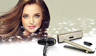 Test and keep the new GHD Saharan Gold Collection
