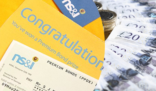 Win £500 to spend on Premium Bonds
