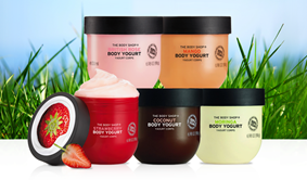 Product testers required for The Body Shop's new body yogurts