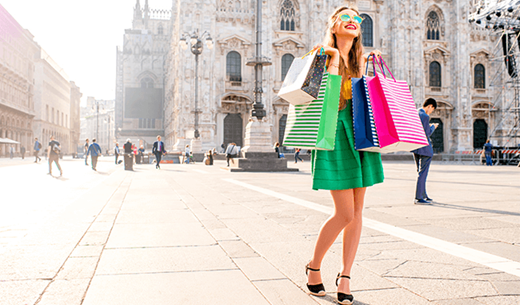 Win a shopping weekend in Milan