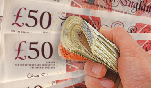 Win £400 cash every month for a year
